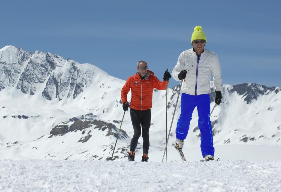ski de fond à Val disère